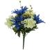Blue & Green Daisy, Hydrangea & Cornflower Bush