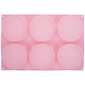 Pink Flat Disc Mold
