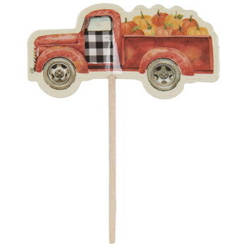 Harvest Truck Cupcake Toppers