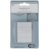 Square Adhesive Magnets