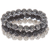 Rhinestone Beaded Bracelets