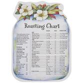 Roasting Chart Jar Magnet