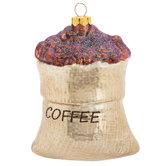 Coffee Bean Sack Ornament