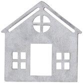 Silver Farmhouse Metal Napkin Ring