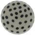 Gray & Black Polka Dot Knob