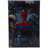 Spider-Man Spiderverse Lenticular Wood Wall Decor
