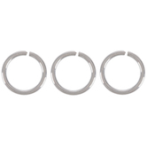 Stainless Steel Open Jump Rings - 6mm