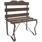 Wood Bench Decor