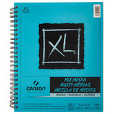 "Canson XL Mix Media Rough Paper Pad - 9"" x 12"""