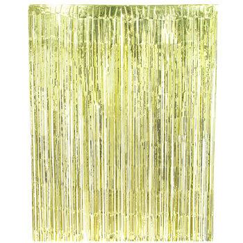 Gold Mylar Curtain