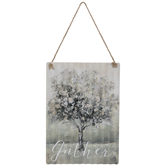 Gather Tree Corrugated Metal Wall Decor