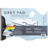 "Gray Disposable Paper Palette Pad - 11"" x 16"""