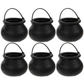 Black Mini Cauldrons
