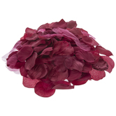 Burgundy Rose Petal Filler