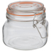 Square Glass Mason Jar - 17 Ounce