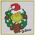 Dr. Seuss The Grinch Wreath Wood Wall Decor