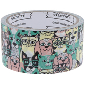 Dogs & Cats Art Project Tape