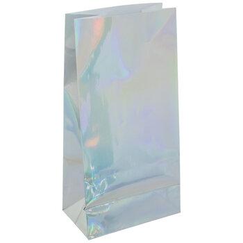 Iridescent Foil Gift Sacks