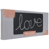 Love LED Metal Wall Decor