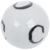 Mini Letter Decorative Sphere - C