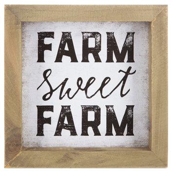 Farm Sweet Farm Wood Decor