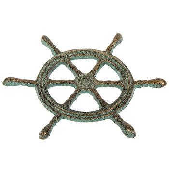 Metal Ships Wheel