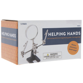 Helping Hands With Magnifying Glass