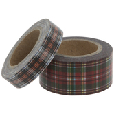 Plaid Washi Tape