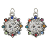 Rhinestone Flower Charms