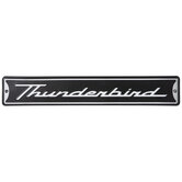 Thunderbird Metal Sign