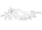 Floral Panel Bridal Applique