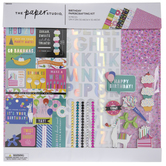 "Birthday Scrapbook Kit - 12"" x 12"""