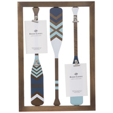 Oars Wood Clip Collage Wall Frame