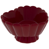 Red Scalloped Heart Bowl