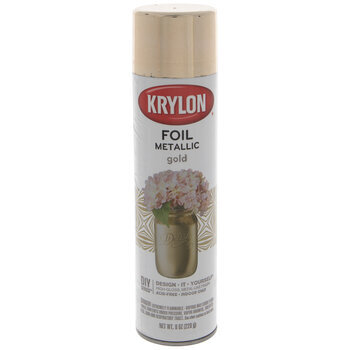 Gold Krylon Foil Metallic Spray Paint