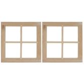 Miniature Single 4-Light Windows