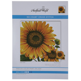 Sunflower No-Count Cross Stitch Kit