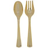 Serving Spoons & Forks