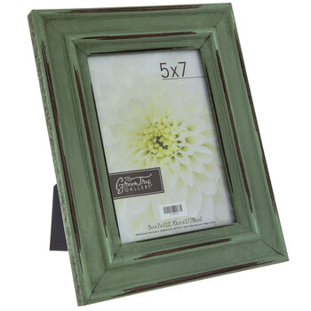 "Distressed Wood Frame - 5"" x 7"""