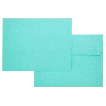 Turquoise Envelopes - A2