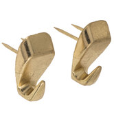 Brass Plated High Heel Push Pin Hanger
