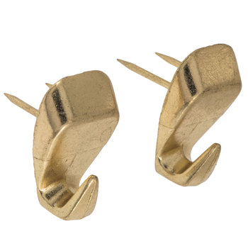 Brass Plated High Heel Push Pin Hanger