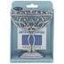 Silver Mini Menorah & Candles