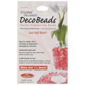Red Crystal Accents Deco Beads