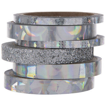 Holographic Foil & Glitter Washi Tape