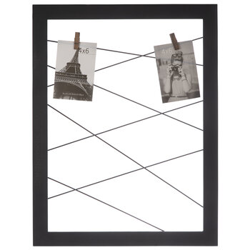 Wire Clothespins Clip Collage Wall Frame
