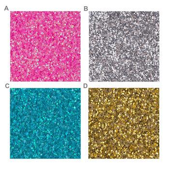 Glitter Wood Number - 3