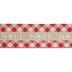 Noel Plaid Wired Edge Ribbon - 2 1/2