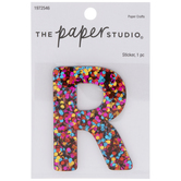 Bright Glitter Letter Sticker