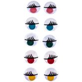 Paste-On Printed Wiggle Eyes - 15mm